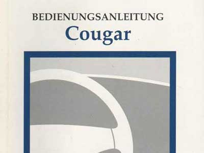 ford-cougar-bedienungsanleitung
