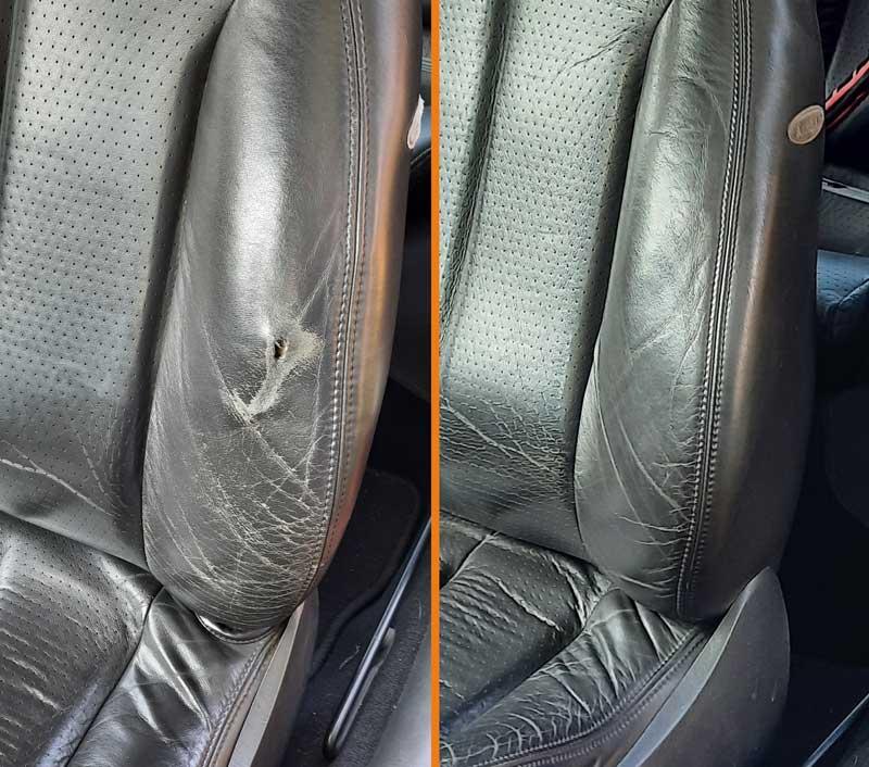 Ford Cougar Sitz Vorher-Nachher Vergleich